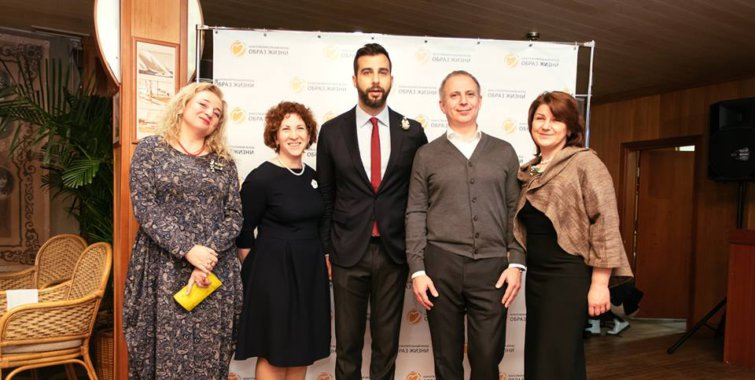 "Ivan Urgant and the ""Life style"" foundation held a charity auction in support of the Center for Curative Pedagogics (CCP) and the Blagosphere Center"